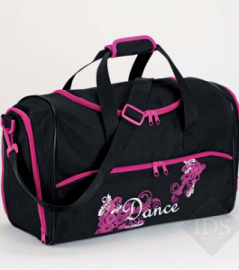 Black and Pink Dance Holdall