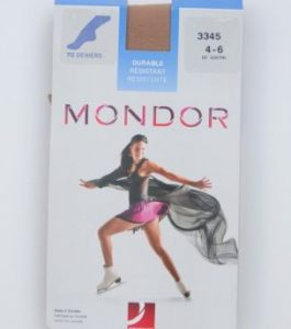 Mondor,3345,Durable,Matte,Skating,Tights