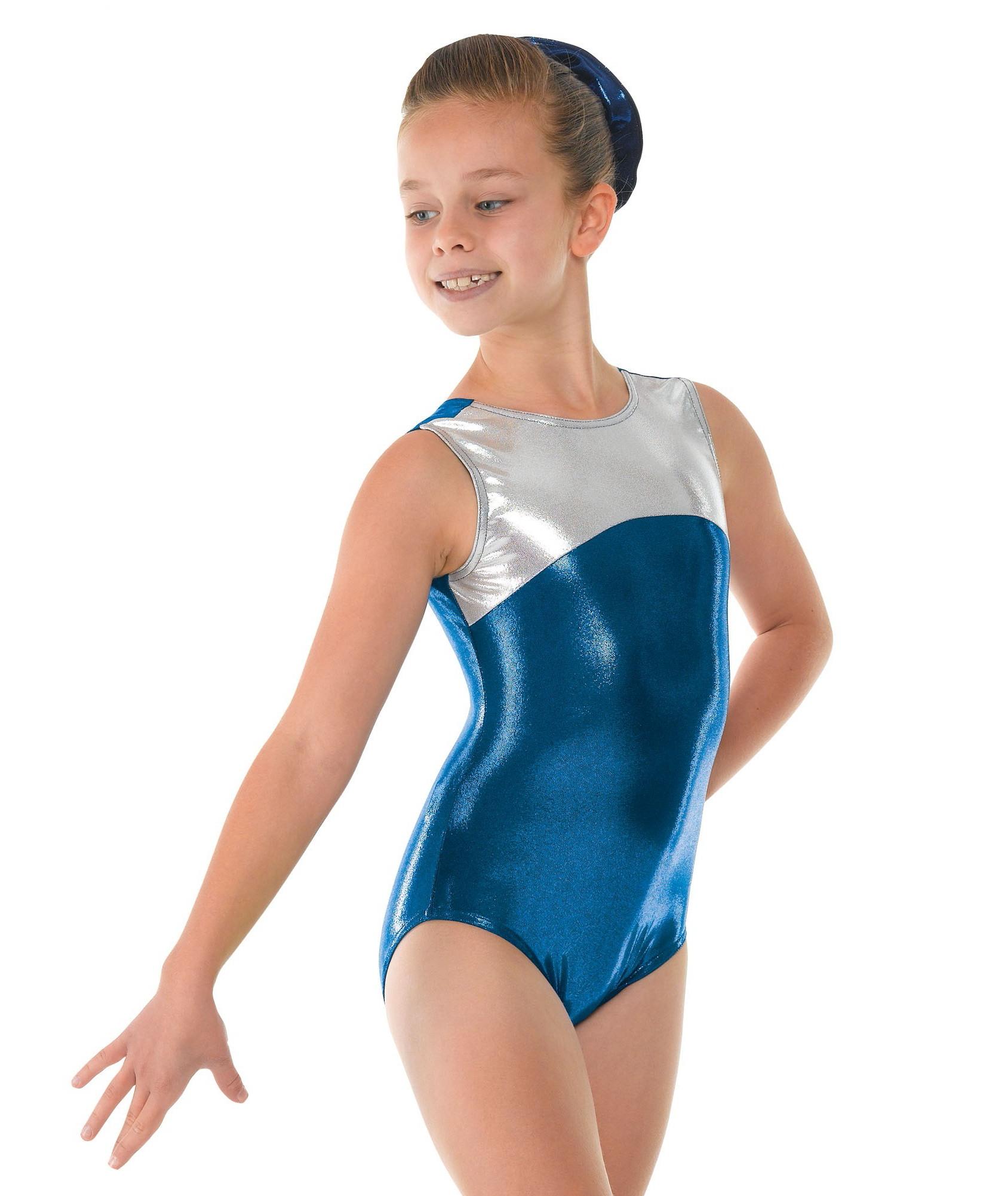 623566d62e0f Shine Sleeveless Gymnastic Leotard - Dancewear Universe