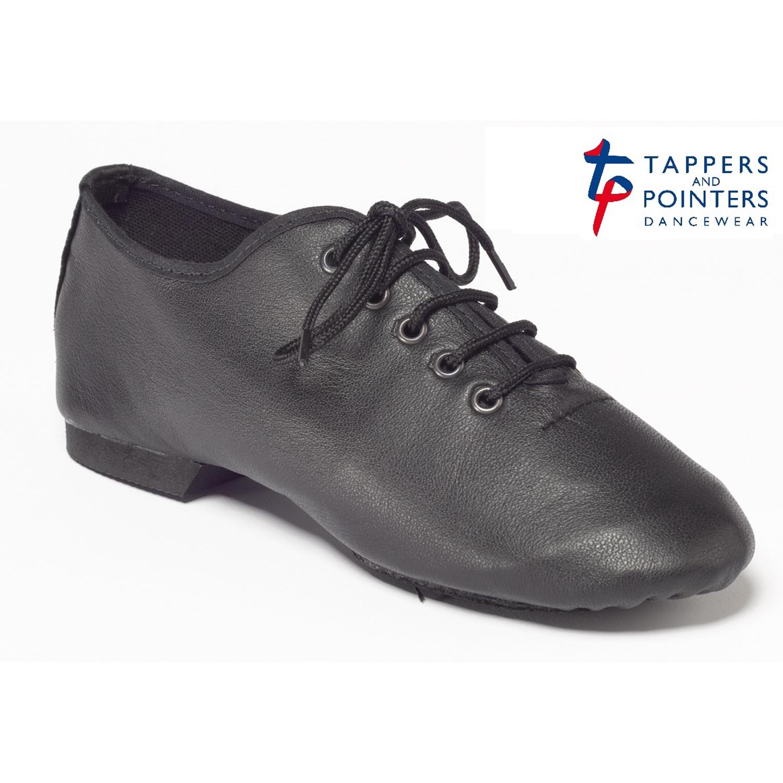 black split sole leather jazz shoes dancewear universe