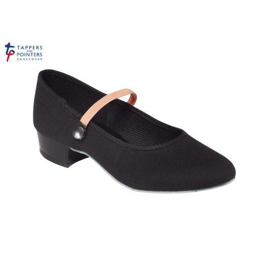 Canvas Character Shoe Low Heel