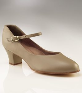Capezio Junior Footlight Character Shoes Tan