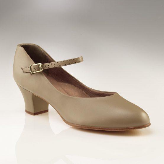 Capezio Junior Footlight Character Shoes Tan
