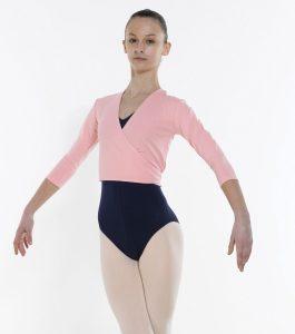 Cotton Ballet Wrap Cardigan