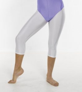 Cotton/nylon Lycra Capri Tights