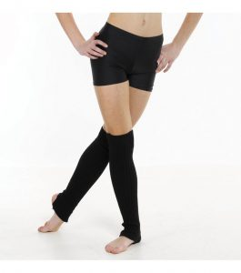 Tappers and Pointers cotton Lycra hot pants in black