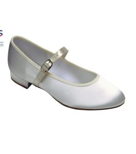 Holly Bridesmaids Shoe in White or Ivory