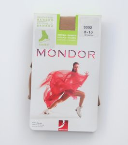 Mondor Bamboo Practice Over Boot Skating Tights