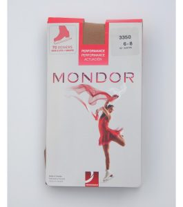 Mondor Competition Over Boot Skating Tights