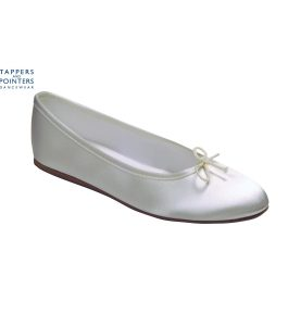 Opera bridesmaids shoes in White or Ivory