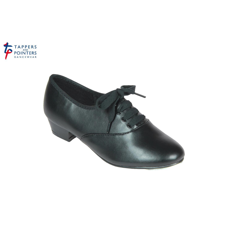 black pu boys and mens oxford tap shoes dancewear universe