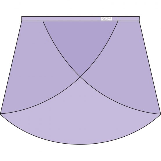 RAD Primary Wrap Over Skirt Lilac