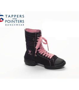 Rumpf 2 Star Sneaker Black & Pink