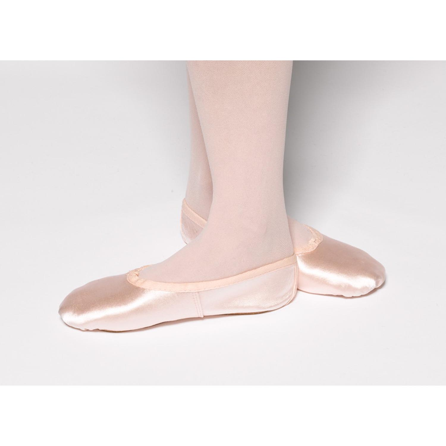 e52924652e66 Tappers And Pointers Satin Ballet Shoes - Dancewear Universe
