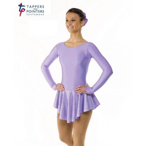 Skating Dress4 in Lilac front