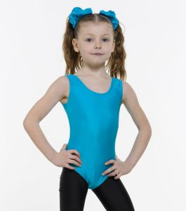 Tappers and Pointers Sleeveless Leotard Plain Front