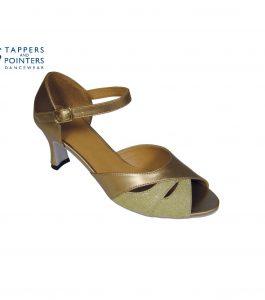 Amelia Ballroom Shoe 2.5 inch Flared Heel