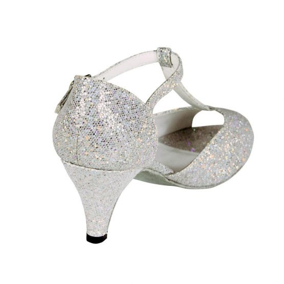 Chloe Ballroom Shoe Heel detail