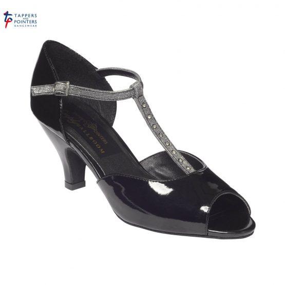Chrystal Ballroom Shoe 2.5 inch Slim Heel