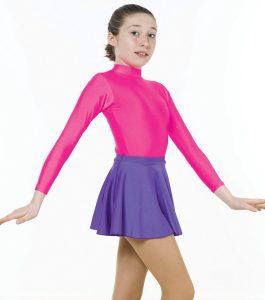 Circular Skirt in Nylon Lycra