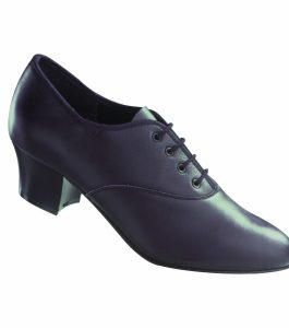 Freed Black Leather Oxford Tap Shoes