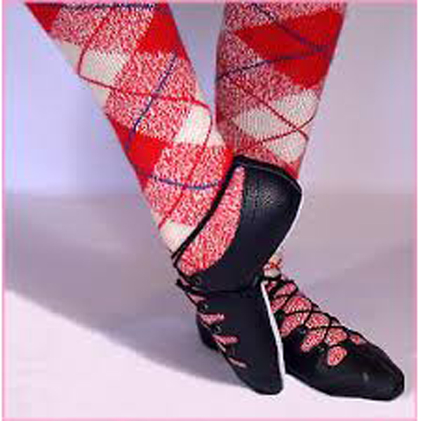 Gandolfi Strathspey Pumps - Dancewear