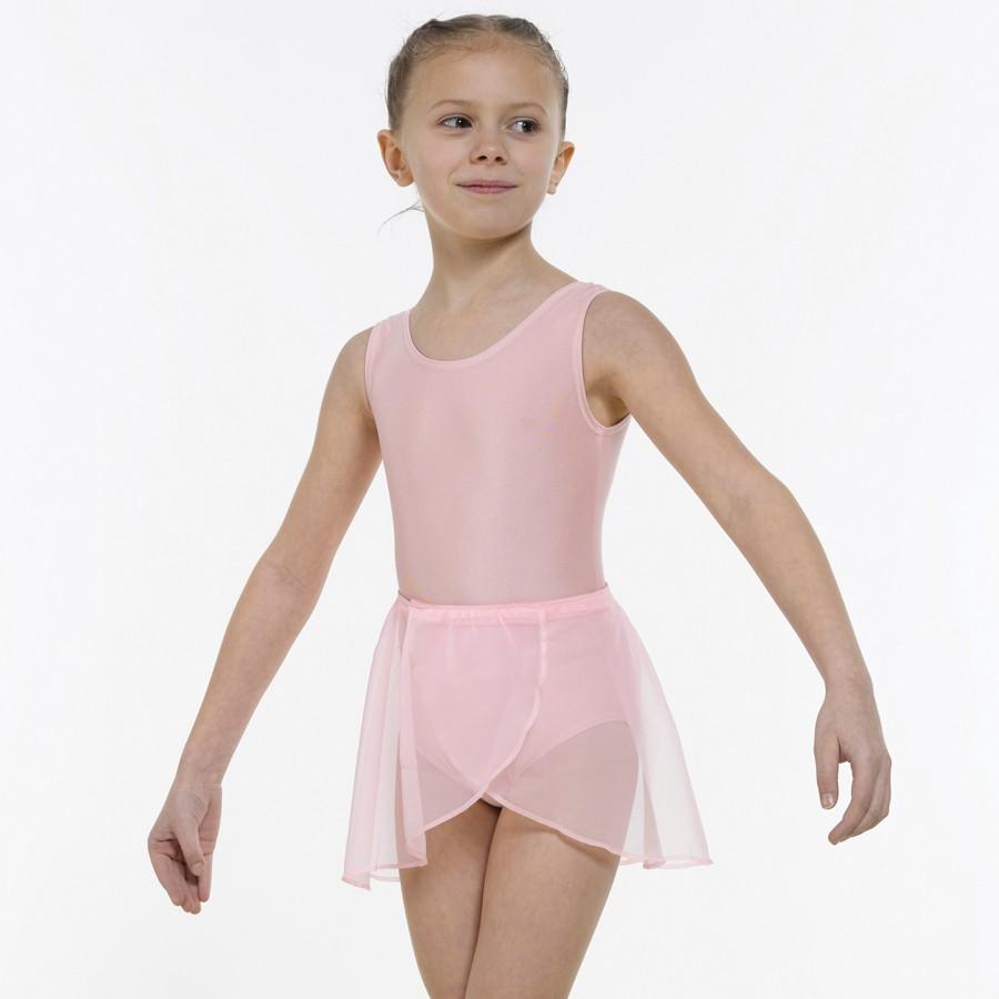 9d6adcc7b Georgette Wrap-Over Ballet Skirt - Dancewear Universe