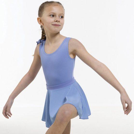 ISTD Poly-Crepe Circular Skirt