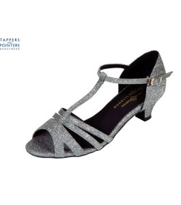 Isabel Ballroom shoe 1.5 inch Spanish Heel