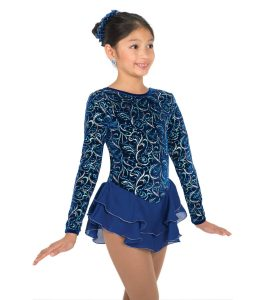 Jerrys 595 Whimsical Blue Skating Dress front