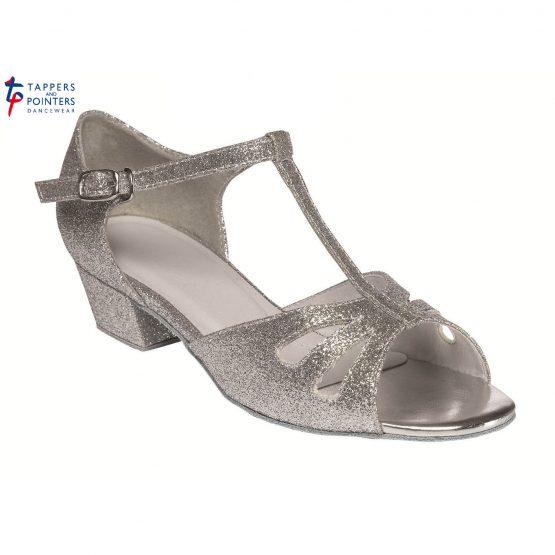 "Millie Junior Ballroom Shoes 1.2"" Heel"