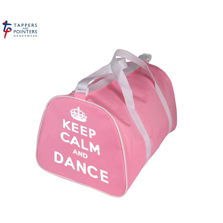Keep Calm and Dance On-Ballerina Slippers Gym Bag