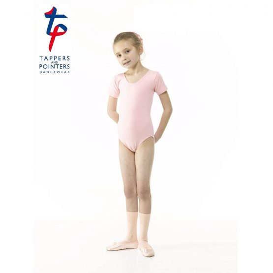 RAD Short Sleeve Leotard Plain Front (Primary) Pink