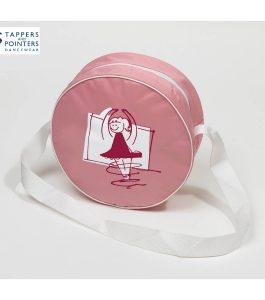 Round Dance Bag Pink T&P Twirlie Dancer
