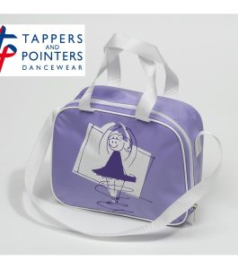 Square Dance Bag Lilac with T & P Dancer Motif