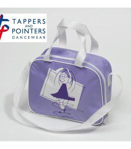 Square Dance Bag Lilac with T & P Dancer Motif