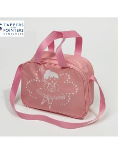 Square Dance Bag Pink with Star Dancer Motif