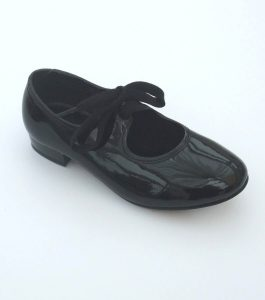 Black Patent PU Tap Shoes