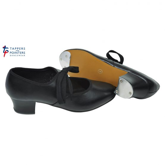 Cuban Heel Tap Shoes with Heel & Toe Taps