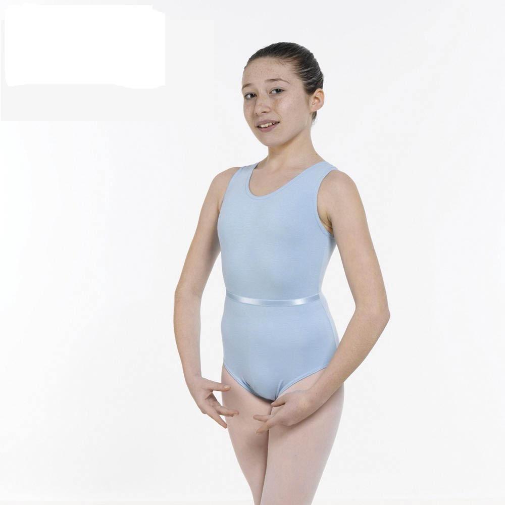d2de297b134c lower price with b8b9e 6142a ballet sleeveless leotard plain front ...