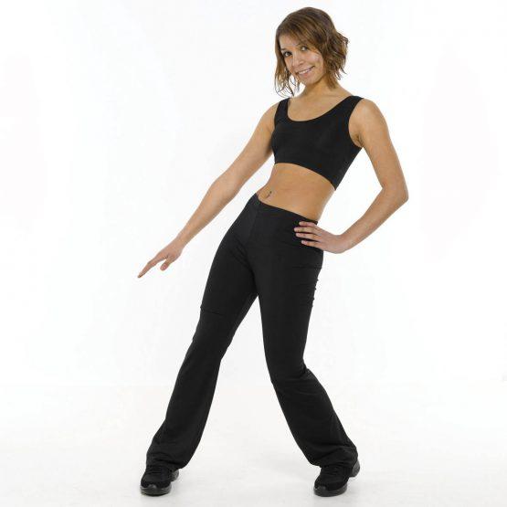 Bootleg Dance Pants Standard Waist