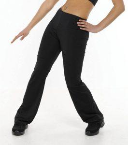 Bootleg Dance Pants with Standard Waist