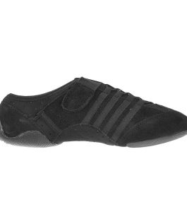 Capezio PP15 JAG Jazz Sneaker Black Split EVA Sole