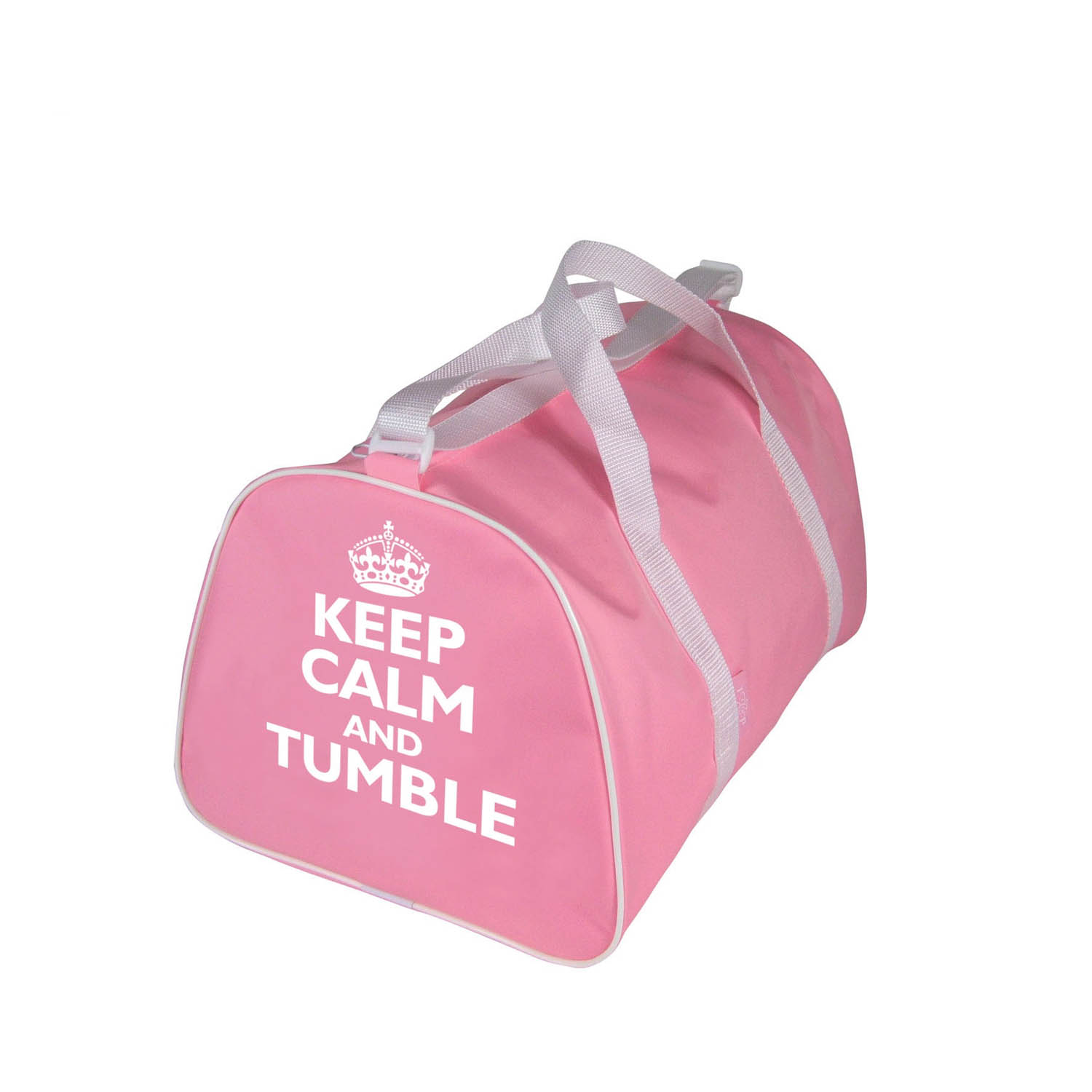 Gym Holdall Bag With  Keep Calm and Tumble  Motif - Dancewear Universe 426c5b089e967