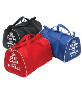 Gymnastic Holdalls Keep Calm Tumble & Back Flip Group