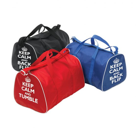 Gymnastic Holdalls Keep Calm Tumble & Back Flip Group