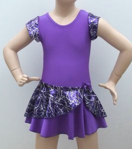 Purple Jodi Dance Dress front