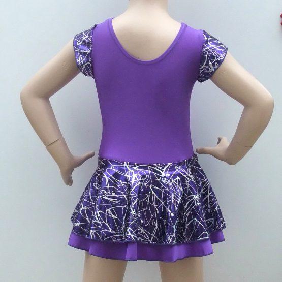 Purple Jodie Dance Dress back