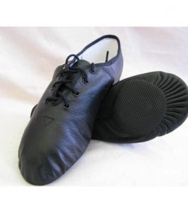 Bloch Split Sole Ultraflex Leather Jazz Shoes black