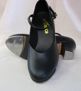 So Danca Black Tap Shoes with Taps